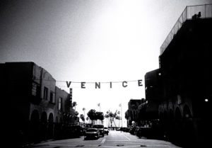 Venice Beach writing
