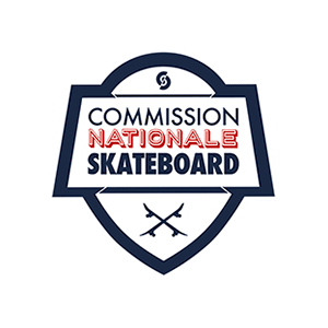 logo commission nationale skateboard