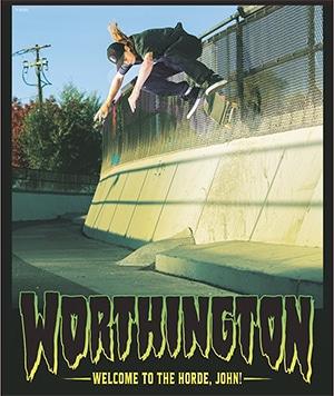 John Worthington Creature Skateboards