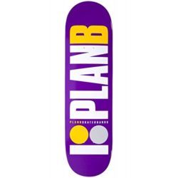 "Plan-B-Team-Purple-8.375"" skateboard deck"