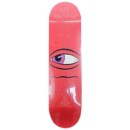 "Toy Machine Side Eye red 7.75"" Deck"