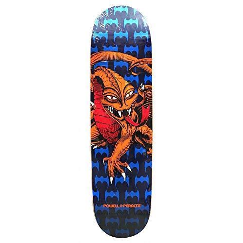 "Powell Peralta One Off Cab Dragon Mini Deck Blue - 7.50"" skateboard deck"