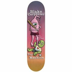 "Toy Machine Carpenter Valentines 8 X32"" skateboard deck"