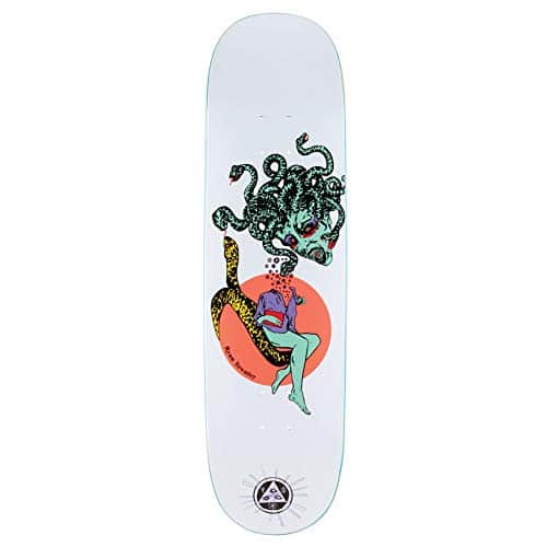 "Gorgon On Enenra 8.5"" Skateboard Deck."