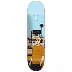 Chocolate Perez City Series 8.25, Stevie Perez pro-model skateboard deck