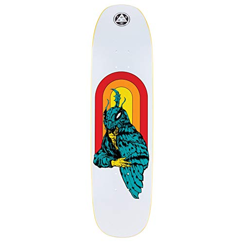 Welcome Mothman on Son of Moontrimmer 8.25 skateboard deck
