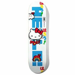 "Girl Hello Kitty 8.25"" Andrew Brophy skateboard deck"