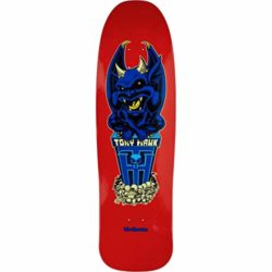Birdhouse Tony Hawk Gargoyle Old School Deck Red - 9.375""