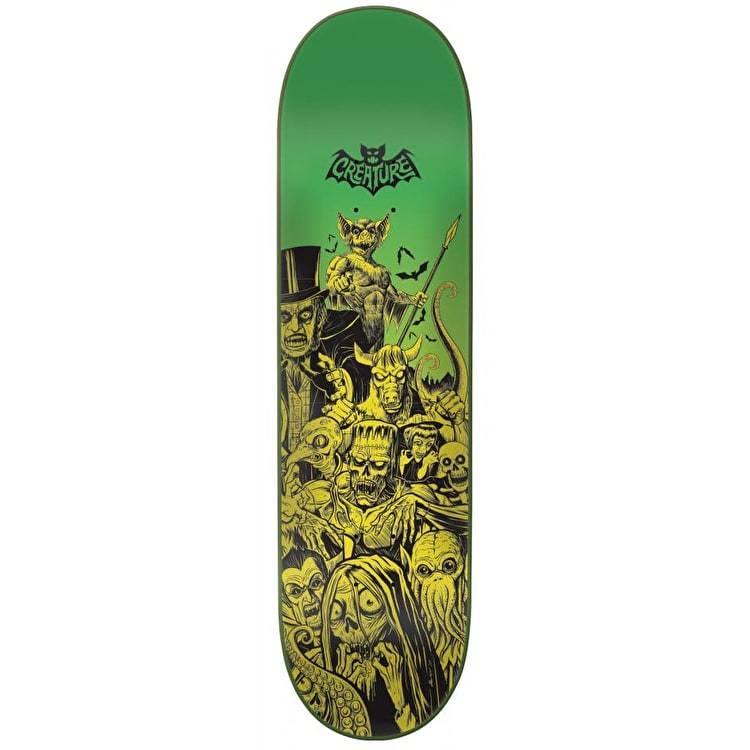 Creature Batty 8.0 skateboard deck