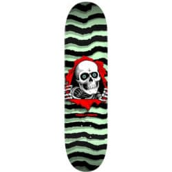 "Ripper Pastel Green 8.25"" X 31.95"" skateboard deck"