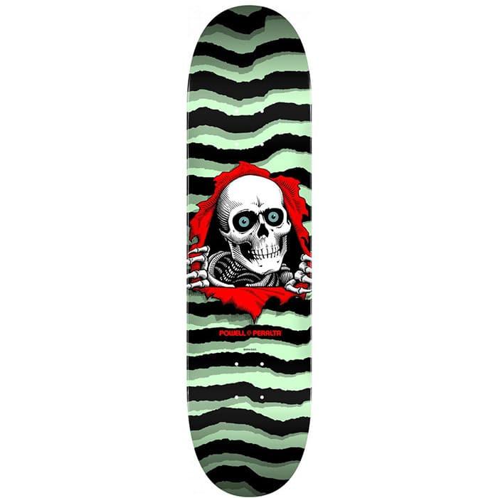 "Ripper Pastel Green 8.25"" X 31.95"" skateboard deck"