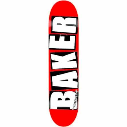 Baker brand logo White 8.0 deck