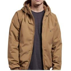 Volcom Hernan Jacket Homme Burnt Khaki