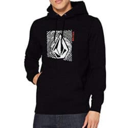 Sweat shirt à Capuche Homme Volcom Supply Stone noir