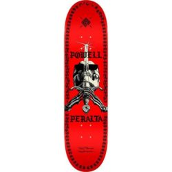 "Powell Peralta SAS Chainz - 8"" Red skateboard deck"