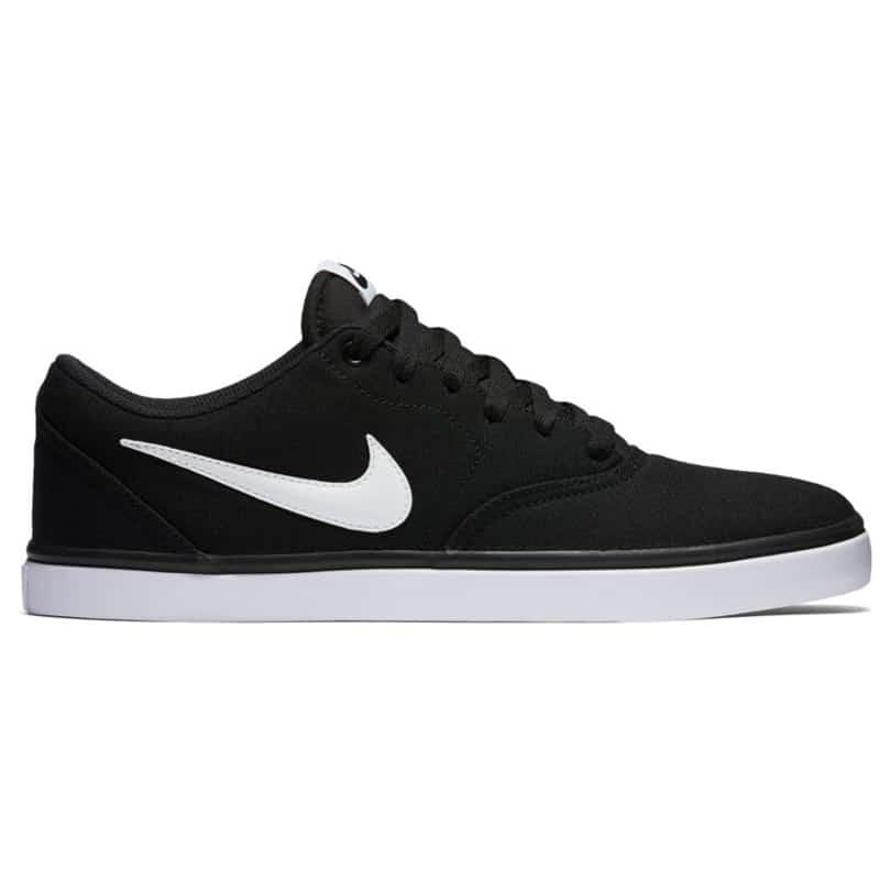 Nike SB Check Solar, Chaussures de Skateboard Homme, Noir (Black/White),