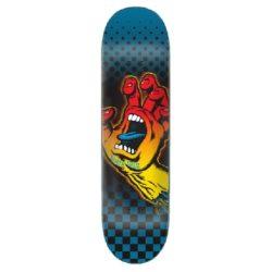 "Santa Cruz Aura Hand 8.125"" skateboard deck"