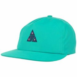 Casquette Huf Triple Triangle couleur Turquoise