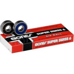 Roulements de skateboard bones super six balls
