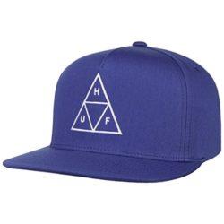 Casquette Huf Triple Triangle bleu roi