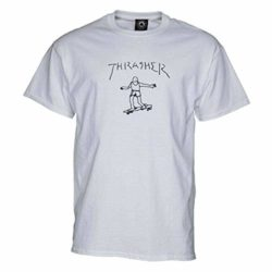 Thrasher-T-shirt Gonz white