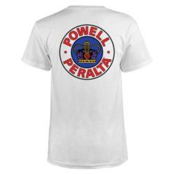T-shirt Powell Peralta Supreme white