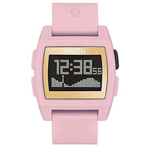 Nixon Base Tide Pink / gold montre femme