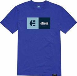T-Shirt Etnies Eblock Bleu Roi