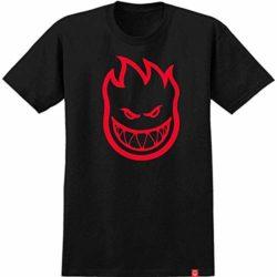 Tshirt skate Spitfire Bighead black/red