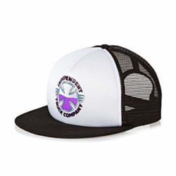 Caquette de skateboard Independent purple chrome