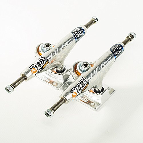 Thunder 148 Hi paire HOLLOW LIGHT Polished skateboard trucks