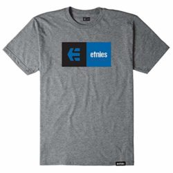 T-Shirt Etnies Eblock gris