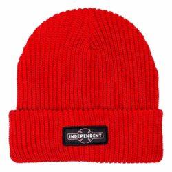 Bonnet de skate Independent Dual Pinline O.G.B.C rouge