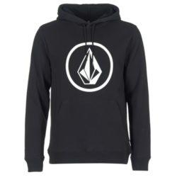 sweat capuche volcom logo noir