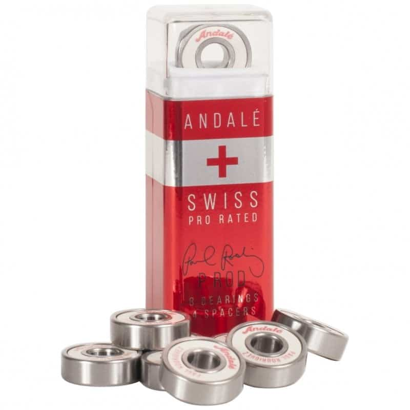 Roulements de skateboard Andale Paul Rodriguez Swiss Pen Box