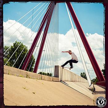 Mark Suciu Thunders Trucks skateboard ads