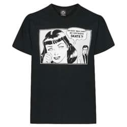 Thrasher Magazine T-Shirts Boyfriend coulleur noire