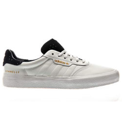 Chaussures Adidas Skateboarding 3mc couleur blanc/ navy gold metallic