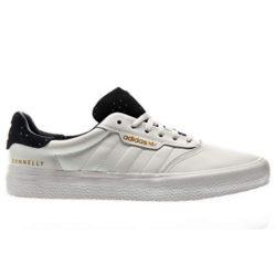 Chaussures Adidas Skateboarding 3mc blanc/ navy gold metallic