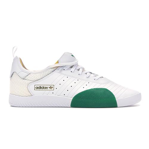 Chaussures de skateboard Adidas 3ST.003 Blanc/Vert/Or