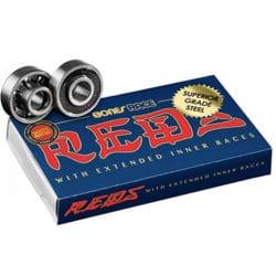 Roulements de skateboard Bones Race Reds