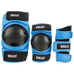 Set de protection skateboard complet Bullet enfants