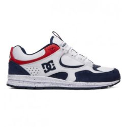 DC Shoes Josh Kalis Lite Se, Chaussures de Skateboard Homme White/Red/Blue