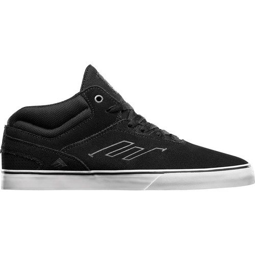Emerica Westgate Mid Vulc Black/White skate shoes