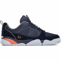éS Silo Navy-grey-orange skate shoes