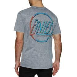 t-shirt Etnies Retro gris dos