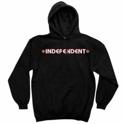 Sweat-shirt à capuche Independent Truck Co Bar Cross noir