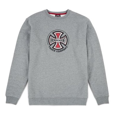 Sweat-shirt Independent Truck Co Crew skateboard gris