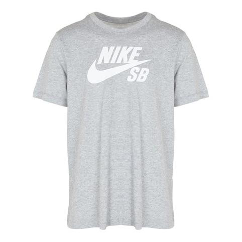 T-shirt Nike SB Dri-Fit couleur Gris et blanc (Grey Heather/White)