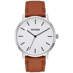 Montre Nixon Porter Leather Marron - A10582442-00